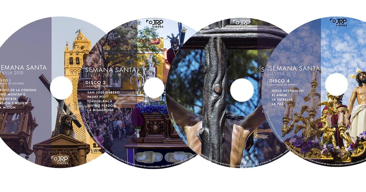 JRP Vídeos CD Primera Parte